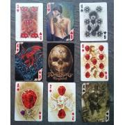 Jeu De Carte Alchemy Gothic Gothique 54 Cartes Avec Joker Neuf