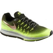Nike Air Zoom Pegasus 33 Shield Laufschuhe Herren in neongelb/khaki/gold, Größe: 46