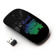 X-MOUSE M-3009604 Wireless Mouse - Cool Glasses Neon Cat