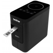P-Touch BROTHER Labelling system PTP750W, Desktop, PlugPlay, TZ tapes 3.5 to 24 mm, Print up to 30mm/sec, Option for Battery (alkaline/NiMH/Li-ion)adapter, Editor Lite Editor 5.1, NFC walk upprint