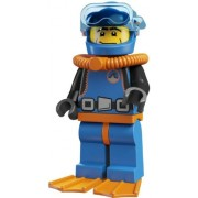 Lego Collectable Minifigures: Deep Sea Diver Minifigure (Series 1) (Bagged)