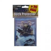 Ultra Pro Artists Series Deck Protector Ciruelo Horned Warrior (Black Wizard) Gaming Sleeves 50 (50 +10 Bonus Pack) Pack Of Standard Size Deck Protectors Sleeves