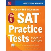 McGraw-Hill Education 6 SAT Practice Tests by Christopher Black