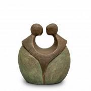 Keramische Art Urn Voor Altijd Samen (1 liter)