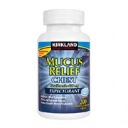 MUCUS RELIEF- CHEST 400mg (Guaifenesin) 200 Immediate-Release Tablets
