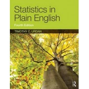 Statistics in Plain English by Timothy C. Urdan