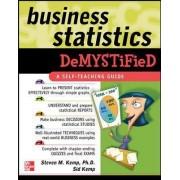 Business Statistics Demystified by Steven M Kemp