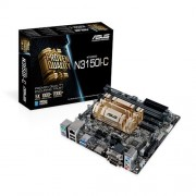 Asus Braswell Scheda Madre Intel N3150I-C, Nero