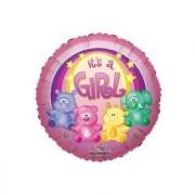 18 Inch Zoo Baby Girl Balloon
