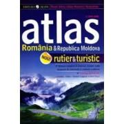 Atlas rutier si turistic Romania si Republica Moldova ed.2