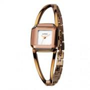 Kimio arany színű üreges karkötős óra