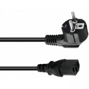 OMNITRONIC IEC power cable 3x0.75 0.6m bk