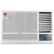 Hitachi RAW218KUD Kaze Plus Window AC (1.5 Ton, 2 Star Rating, White, Copper)
