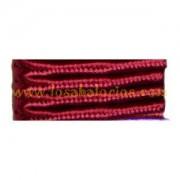 Cordón Soutache color Burdeos (precio por metro)