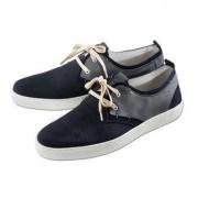 Shoemaker-Sneakers, 45 - Jeansblau/Grau