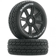 Duratrax Bandito 1 8 Scale RC Buggy Tires with Foam Inserts