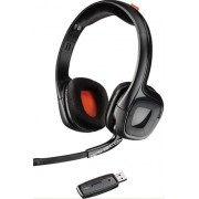 Casti cu Microfon Plantronics GameCom 818, Wireless, USB, compatibile PC, MAC, PS4 (Negre)