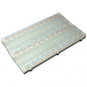PI Manufacturing Solderless Breadboard Simple Type, 1560 Tie Point, 1 Bus Strip for Educational Purposes