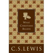 What Christians Believe by C. S. Lewis
