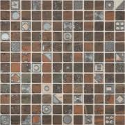 Faianta/Mozaic B-Tile Mosaico Avorio Marron Mix 30 x 30 cm