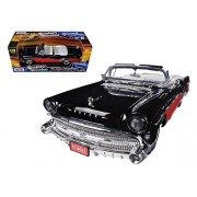 Buick Roadmaster Convertible (1957, 1:18 Scale Diecast Model Car, Black)