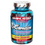 AMINOSTAR - L-CARNITINE AKCIA 60kps + 20kps
