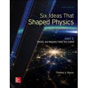Six Ideas That Shaped Physics: Unit E - Electromagnetic Fields: Unit E by Thomas A. Moore