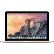 Laptop Apple MacBook 12 inch Retina Intel Broadwell Core M 1.1 GHz 8GB DDR3 256GB SSD Mac OS X Yosemite INT Keyboard Gold