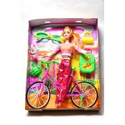 Aaryan Enterprise Spin N Ride Pups & Barbie Doll Playset