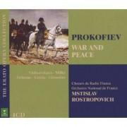 S Prokofiev - Warand Peace (0825646880102) (4 CD)