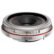 Pentax SMC HD DA 40mm f/2.8 Limited (argint)