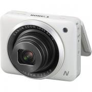 Aparat foto digital Canon PowerShot N2 : 16.1 MPx, 8x Zoom, LCD tactil 2.8, Full HD - White