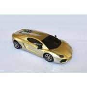 Racing Car Radio Control Model scale 114 golden