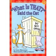 What Is That? Said the Cat by Grace Maccarone