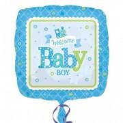 Balon folie WELCOME BABY BOY