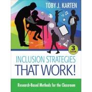 Inclusion Strategies That Work! by Toby J. Karten