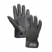 Petzl Cordex Belay Abseiling Gloves - Black