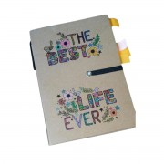 "My ""Best Life Ever"" Survival Notebook (includes sticky notes and matching pen)"