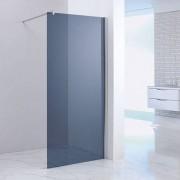 Inloopdouche / Douchewand / Douchescherm Stern 120x200cm Rookglas Chroom Profiel 10mm Veiligheidsglas Easy Clean