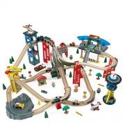 KidKraft - Circuito con vías de tren superhighway (17809)