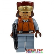 Lego Star Wars: Captain Panaka Minifigure With Blaster