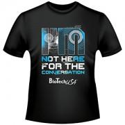 "Biotech USA - Tričko ""NOT HERE"""