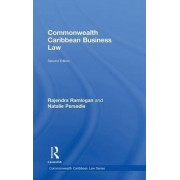 Commonwealth Caribbean Business Law by Natalie Persadie