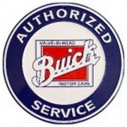 """Sign - Buick Authorised Service (Circle)"""