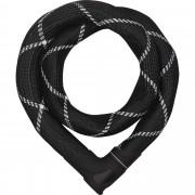 Abus Steel-O-Chain Iven 8210 Gr. 85 cm - grau schwarz / schwarz - Kettenschlösser