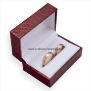 Koženková dárková krabička na snubní prsteny ZH-7/A7