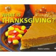 What Is Thanksgiving? by Elaine Landau