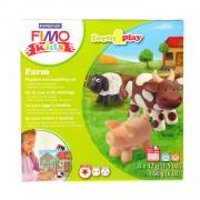 Set Staedtler modelaj fimo kids ferma animalelor STH-8034-01