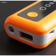 También funciona como memoria de inmediato NEWHI N-138 5600 mAh batería externa, carga de batería con luz - para teléfono móvil, iPhone, iPad, iPod, Blackberry, MP3/4, cámara, reproductor de juego, etc