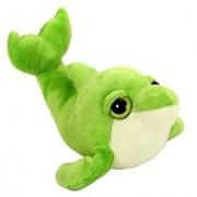 Wild Republic Cool Beans 6 Green Dolphin Plush Stuffed Animal